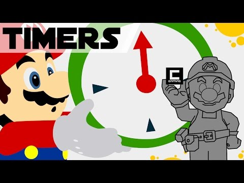 5 Designs for Timers in Super Mario Maker!