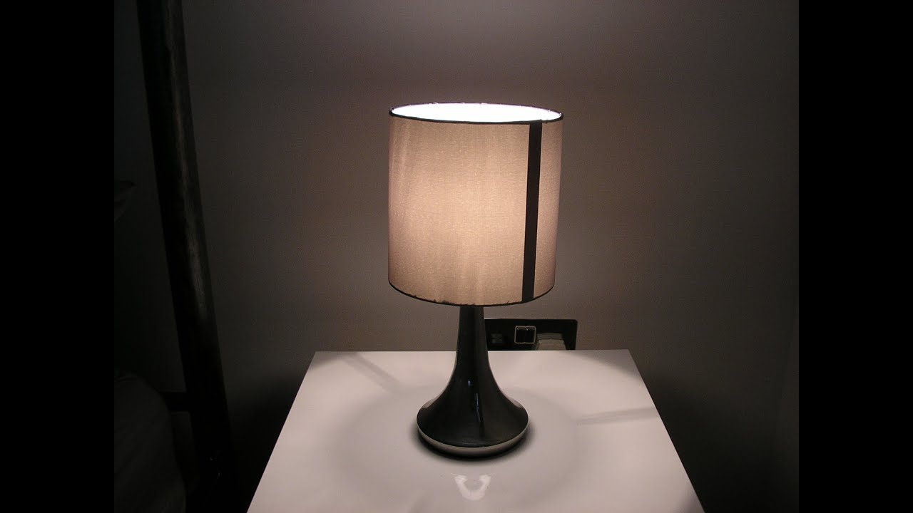 Homebase chrome touch table lamp review youtube geotapseo Image collections