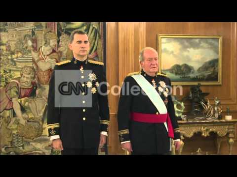 SPAIN: PROCLAMATION OF KING FELIPE IV
