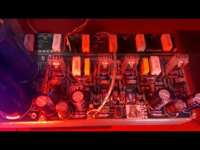 Tes power Btl 600wat Vs Behringer 1202