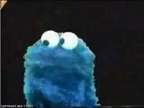 HILLARY CLINTON, COOKIE MONSTER