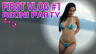 jelly jello vlog : bikini party at gilitrawangan gold digger