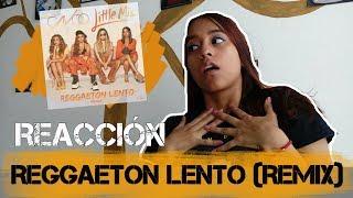 REACCIÓN A CNCO FT LITTLE MIX REGGAETON LENTO | MELI SBEIB