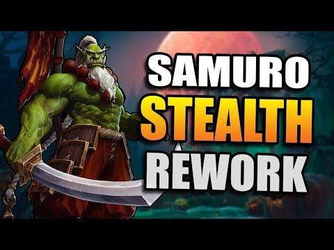 Samuro - stealth rework // Heroes of the Storm PTR