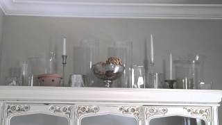 How To Decorate A Dining Hutch : Decorating Challenges