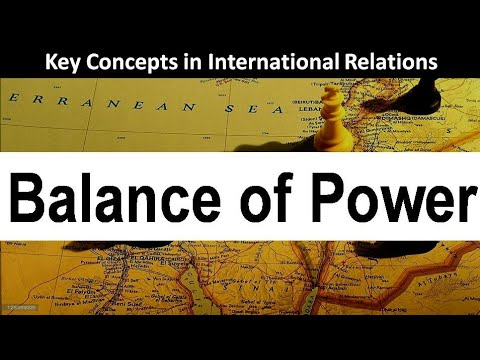 the concept of balance of power theory The central concept in neorealist theory is balance of power since martin wright said, the notion is notoriously full of chaos and confusion, it is difficult to provide exact definition to balance of power.