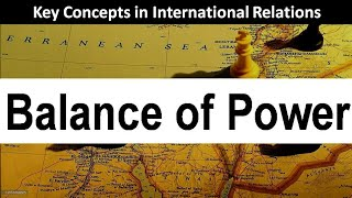 Balance of Power Theory : International Relations Key Concepts ( in Hindi )