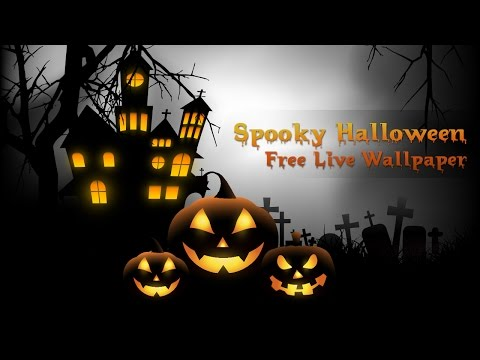 Spooky Halloween Free Live Wallpaper 1