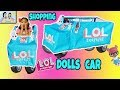 SHOPPING FOR LOL DOLLS CAR+LOL SURPRISE DOLLS SERIES 3+1ST LOL SURPRISE DOLLS CAR PRETEND TO PLAY