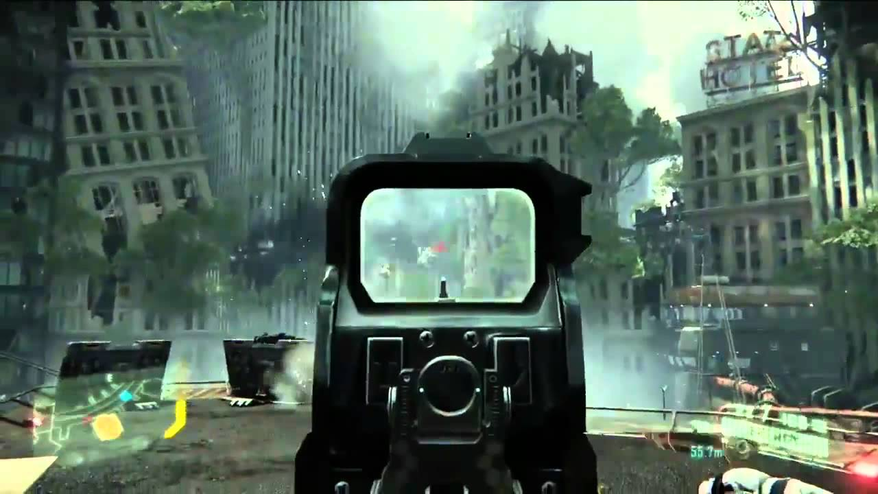 Crysis 3 Gameplay Demo - EA E3 2012 [HD] - YouTube