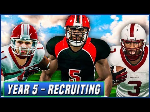 Year 5 Recruiting Special w/ High School Highlights - NCAA Football 14 Dynasty | Ep.77