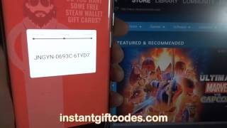 Free Steam Wallet Gift Card Codes: Hack for free games (with working PROOF) 2017 thumbnail