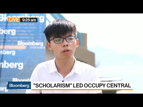 Activist Wong Says Not a Time for Celebration in HK