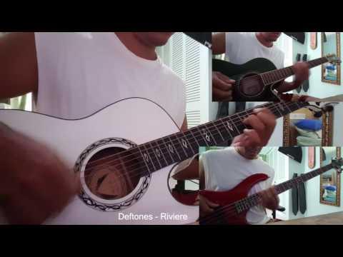Deftones - Riviere acoustic guitar & bass cover mp3