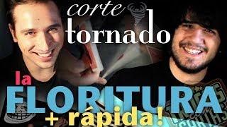 Florituras con Cartas y Trucos con Cartas, CORTE TORNADO (Cardistry en español)