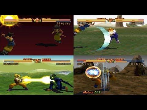 Dragon Ball GT - Final Bout: Psx – Battle Mode Hard_Super Saiyan Goku Playthrough (mdX)
