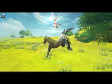 Alicia Online Gameplay (Horse rasing) - (ЛиФа и Милена{микро})