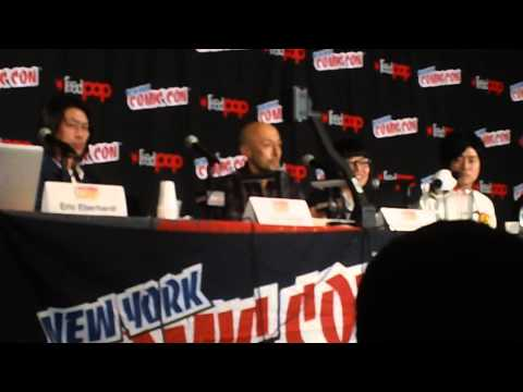 NYCC 2014 Takeshi Obata - The Future of Weekly Shonen Jump Panel (1 of 2)