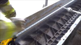 Silo Conveyor breakdown disaster Snapped Chain
