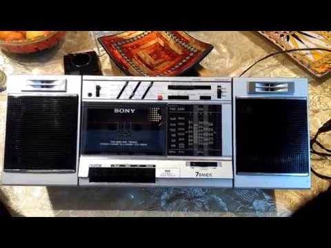 SONY CFS 3000S RADIO MULTIBANDA CASSETTE RECORDER - AMS