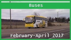 Bus videos: February-April 2017