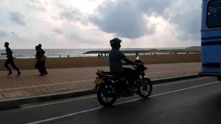 Drive through City of Colombo