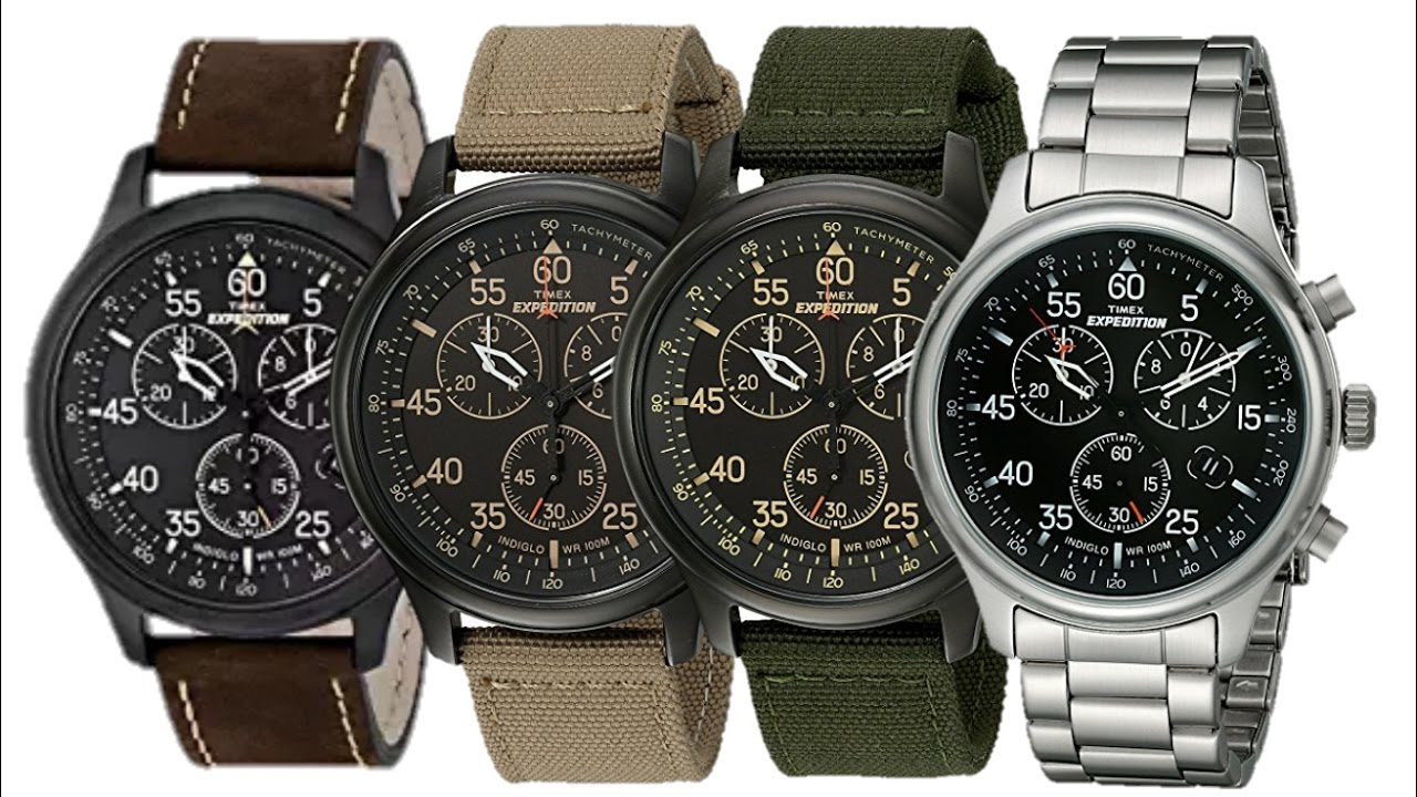 Timex Watches Expedition Rugged Field Chronograph Watch Collection