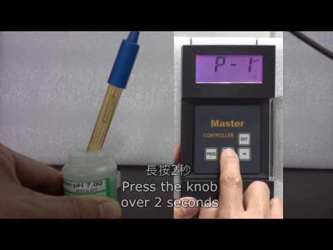M02  進行標準PH值兩點校正(PH 7.00 & PH 4.00) How to calibrate pH7.00 and pH4.00