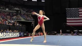 Madison Kocian- Floor Exercise - 2016 P&G Gymnastics Championships – Sr. Women Day 1