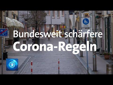 Corona in Deutschland: Verschärfte Maßnahmen treten bundesweit in Kraft