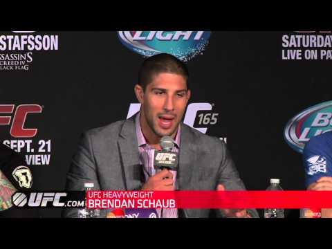 UFC 165: Post-Presser Highlights