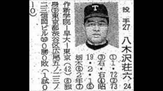 1968年 東京オリオンズ 選手名鑑