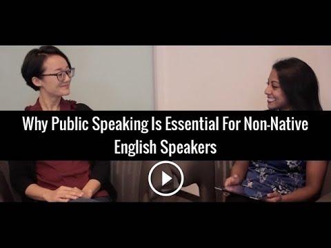 Why Public Speaking Is Essential For Non-Native English Speakers | Poornima Vijayashanker