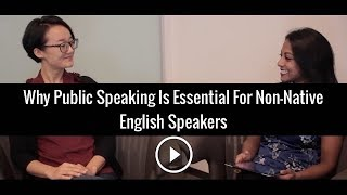 Why Public Speaking Is Essential For Non-Native English Speakers | Poornima Vijayashanker