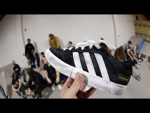 The best way to clean Adidas Superstars. YouTube