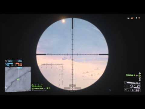 BattleField 4 Sniper Rekor Atış