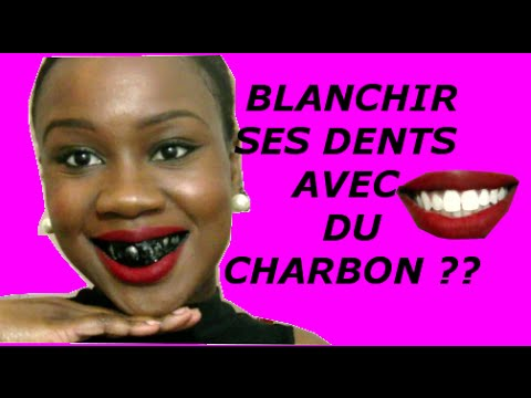 comment avoir des dents blanches avec du charbon youtube. Black Bedroom Furniture Sets. Home Design Ideas