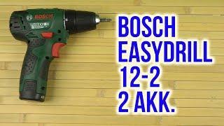 Розпакування Bosch EasyDrill 12-2 2 акумулятора 060397290X