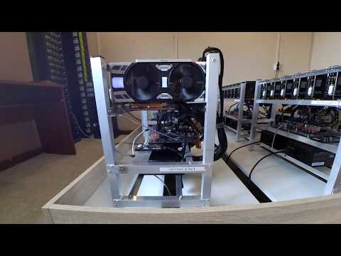 Mining Rigs - 48 GPU Home Cryptomine 1070 Nvidia