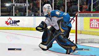 NHL 11 Gameplay | Be A Pro Goalie Mode and Hurricanes vs Ice