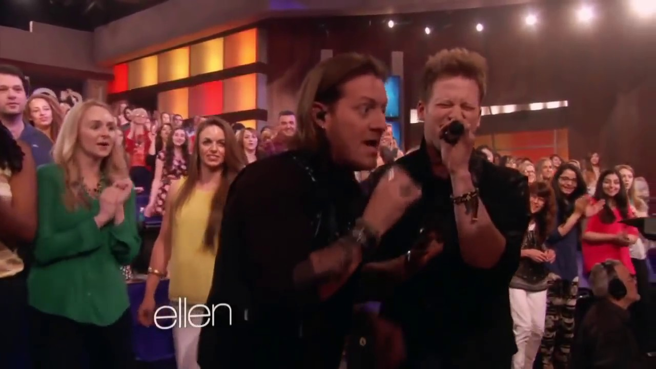 Florida georgia line this is how we roll live at ellen show 2014 youtube - Ellen show live ...