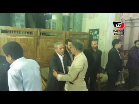 خالد علي وسيد رجب وأشرف زكي في عزاء شقيق «صبري فواز»  - 21:21-2017 / 4 / 28