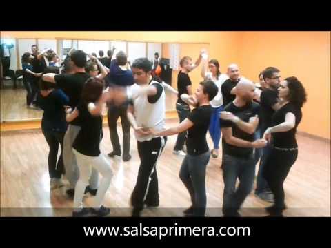 Salsa Primera  - Rueda de Casino Workshop  - Zagreb - Rueda Battle - Tequilla Mosquitos