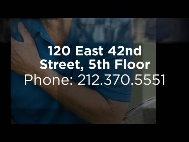 Athletic Injury Care Manhattan Chiropractor - Axon Health