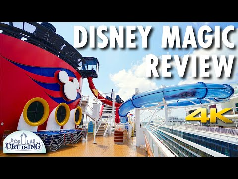 Disney Magic Tour & Disney Magic Review ~ Disney Cruise Line ~ Cruise Ship Review [4K Ultra HD]