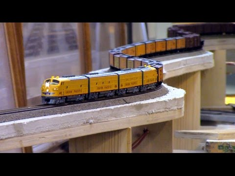 Modelling Railway Train Track Plans-N Scale: Home Layout Special of the Feather River RR III