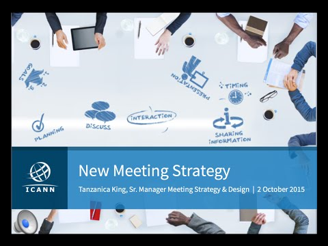 ICANN New Meeting Strategy