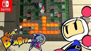 💣 ¡ Desesperación en la Liga Bomberman ! 💣 | Super Bomberman Online en Español - Switch - ZetaSSJ