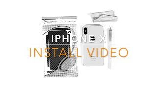 EasySkinz iPhone X - INSTALL VIDEO
