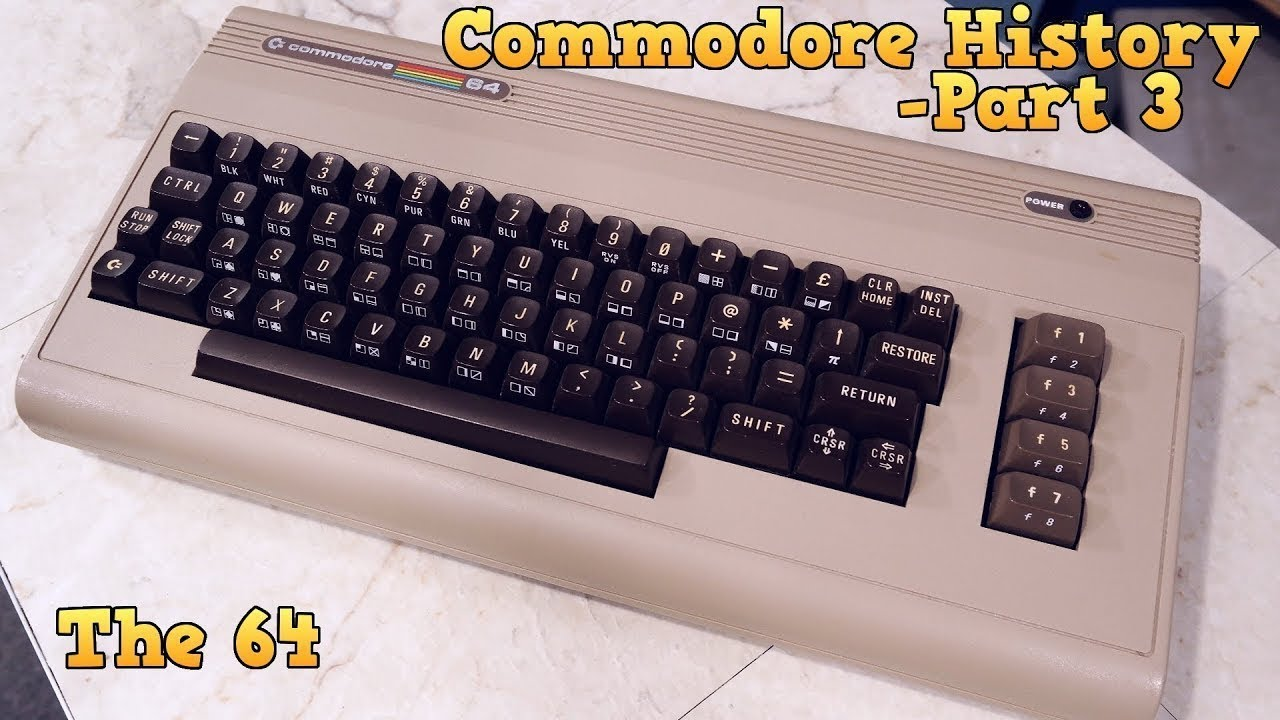 Commodore 64 Kutu Açılışı ve Retro Oyun Yükleme